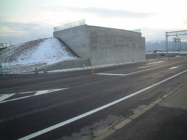 天塩川上流地区 士別幹線用水路25線工区改修工事