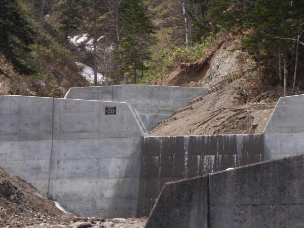 茨内の沢災害関連緊急治山工事