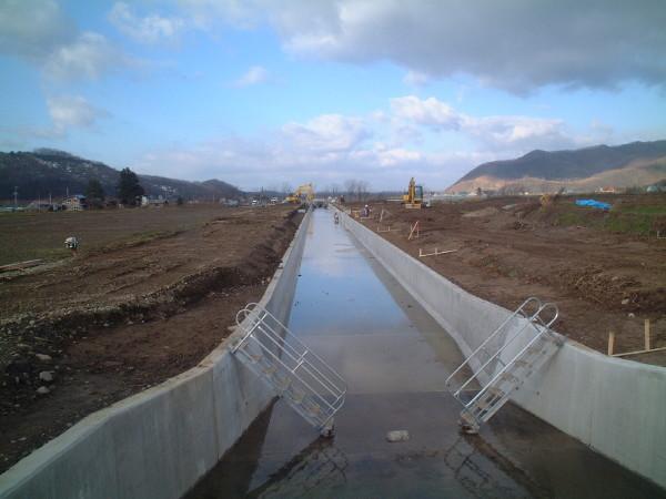 天塩川上流地区士別川幹線用水路25線工区改修工事