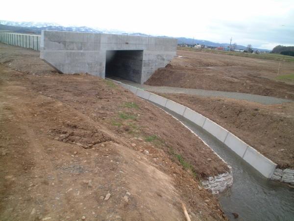 一般国道40号美深町美深函渠設置外一連工事