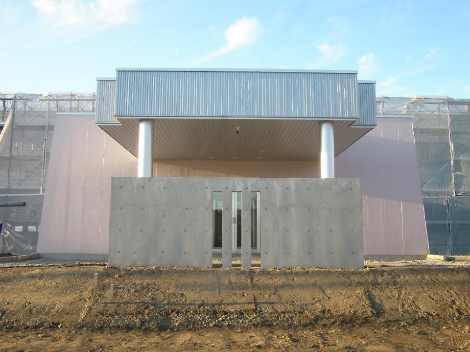 石狩川上流ウッペツ川水門左岸操作室外上屋新築工事