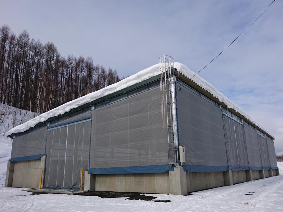 農機具収納倉庫新築工事